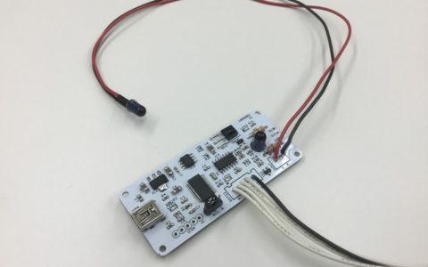 赤外線リモコン信号出力基板