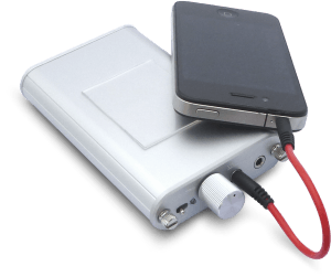 小型アンプとの合体やスピーカーの制振に、そのままお使いいただける小型タイプ!  5cm×4cm
