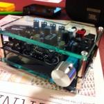 電流帰還アンプAD00026が自作アクリルケースで華麗に変身!