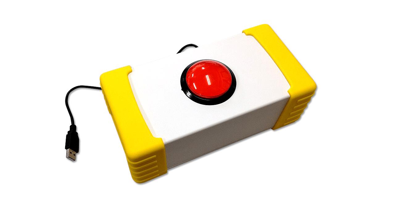 街頭抽選会ボタン