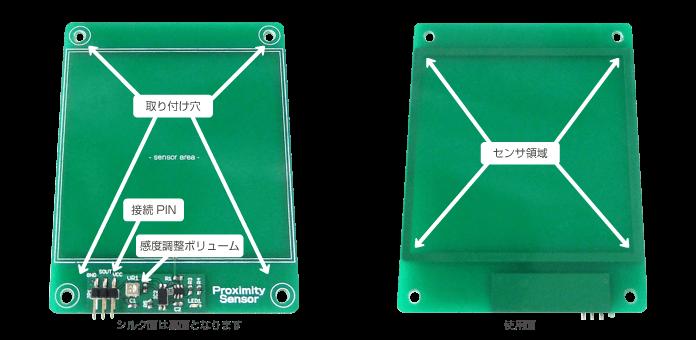 WP-製品紹介M05B-近接センサモジュール(部位説明)