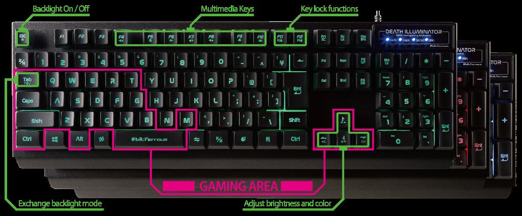 bfkb108ilbk-key
