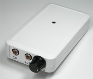 想定収納ケース:タカチ LC135-N 他に出力調整ボリューム用つまみ(6mmD型)が必要です。