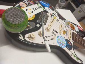 改造してエレキギターに装着!